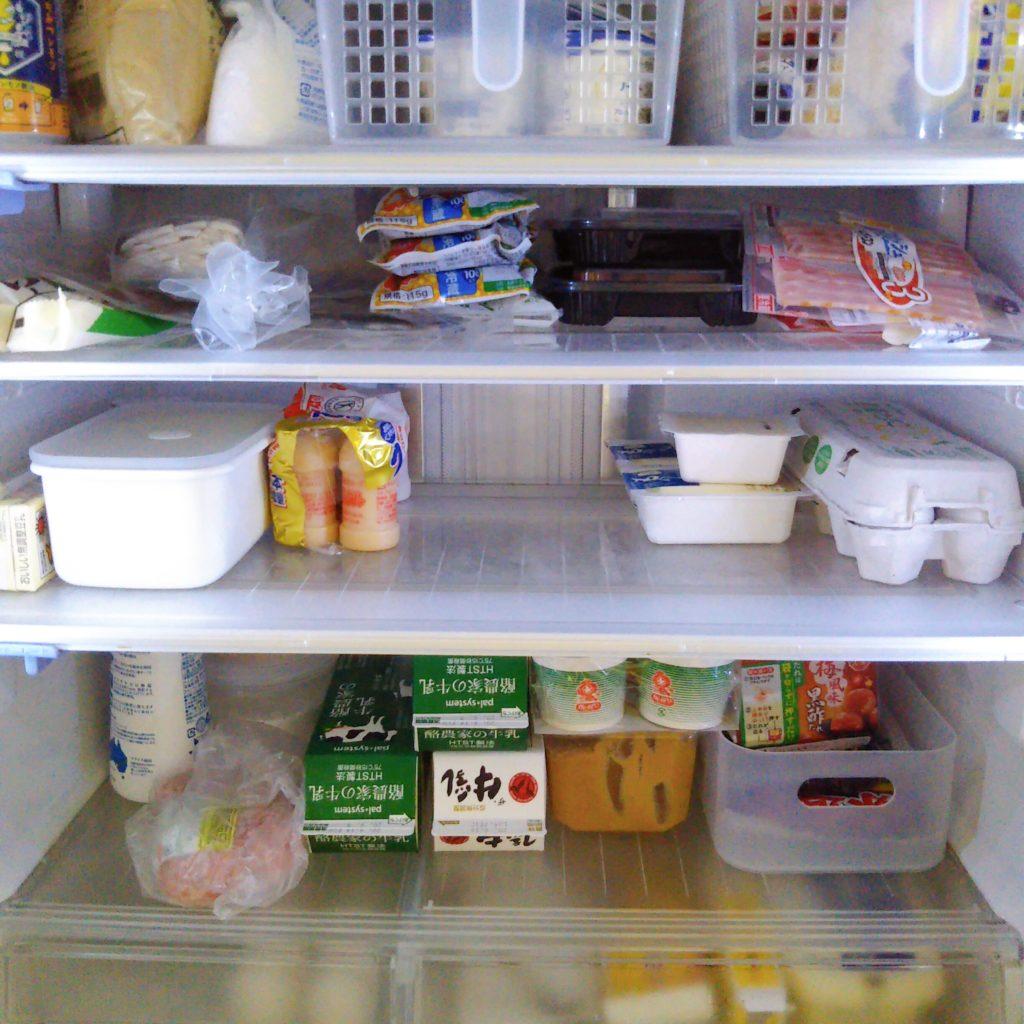 ミニマリストの冷蔵庫の中身
